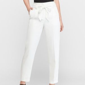 Express high waisted paper bag pants